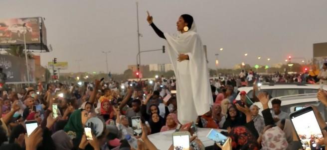 Símbolo de las protestas en Sudán