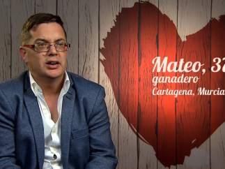 Mateo, en 'First dates'.