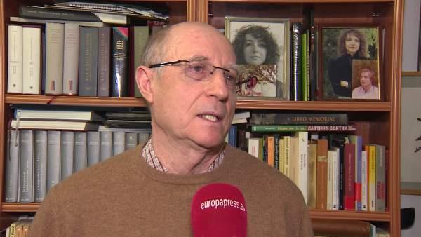 El hombre que ayudó a morir a su mujer, Ángel Hernandez, en declaraciones para Europa Press