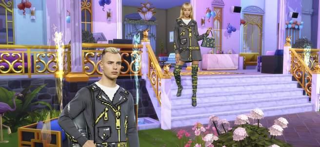 Moschino se inspira en 'Los Sims'