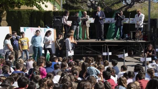 Castellón.- Diputación participa en la campaña escolar 'Salvadors de paraules' para defensa y promoción del valenciano