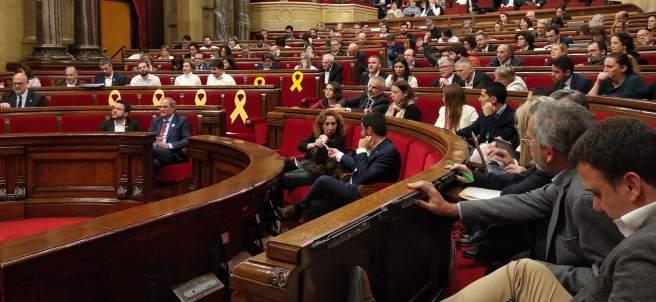 Torrent expulsa a Rodríguez (PP) del pleno del Parlament