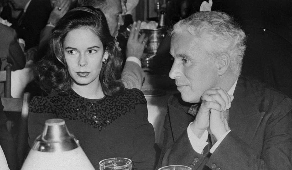 Charles Chaplin y Oona O'Neill