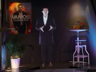 Holograma de Rivera