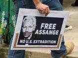 'Libertad para Assange'