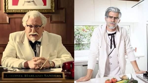 El Coronel Sanders de KFC