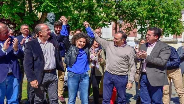 26M.- Monago Recalca Que El 'Mejor Negocio' Para Trujillo Es Que El PP Gane Las Próximas Elecciones