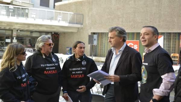Joaquín Moreno dice que Cs acabará con las diferencias salariales entre los agentes de Fuerzas y Cuerpos de Seguridad