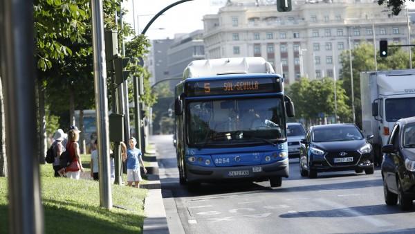 Un autobús de la EMT, en una imagen de archivo.