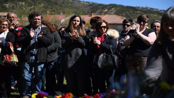Unidas Podemos lamenta en Valdenoceda (Burgos) que el Gobierno 'no haga nada' para llevar 'justicia' a los represaliados
