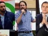 Abascal, Iglesias y Rivera