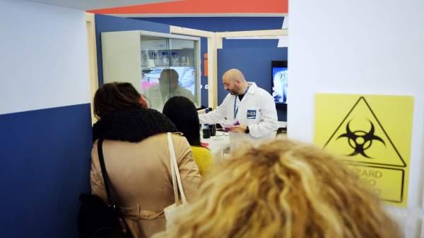 Zaragoza.- El IACS promueve la ciencia inclusiva con la reproducción de cinco de sus laboratorios en Etopia