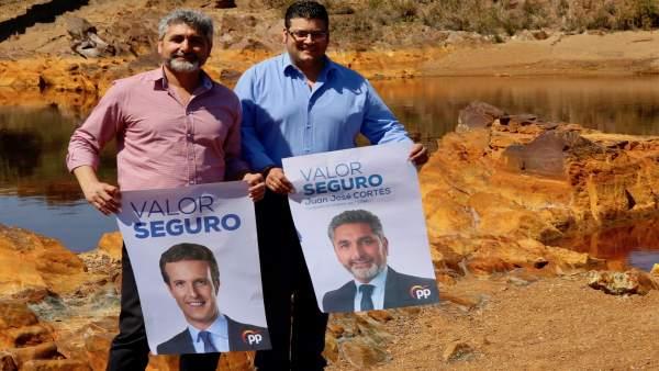 Huelva.-28A.- Cortés 'apuesta' en Villarrasa por el turismo rural y de naturaleza como 'motor de empleo y oportunidades'