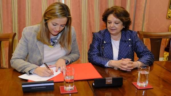 Sevilla.- Ayuntamiento y Mercasevilla colaborarán en acciones y difusión de campañas de igualdad y violencia de género