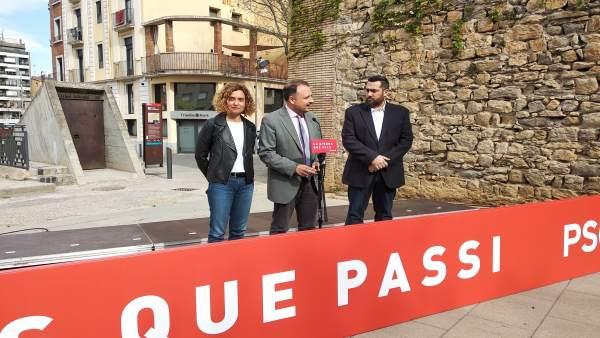 28A.- Batet Pide No 'Fiarse' De Las Encuestas Y Llama A Votar Ante El Riesgo De Que Sume La Derecha
