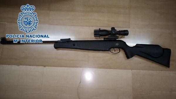 Rifle de aire comprimido