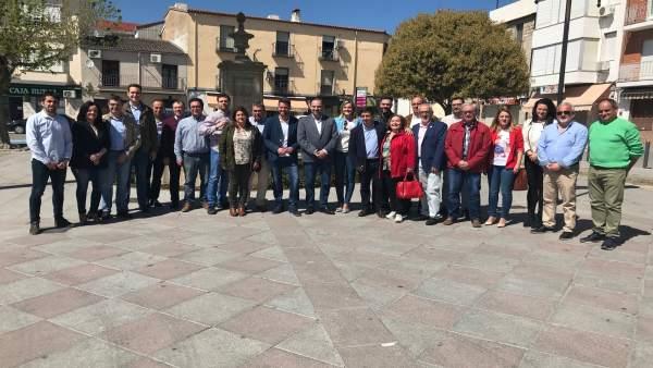 Jaén.- Ábalos se compromete a 'finalizar los tramos de la A-32 hasta Villanueva'