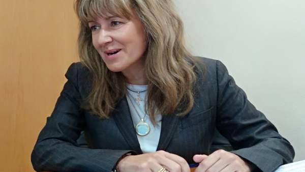 La candidata del PP al Congreso por Asturias, Paloma Gázquez
