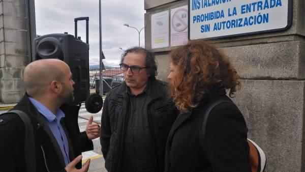 Villares (En Marea) propone en un mitin en Ferrol 'completar todo el ciclo productivo de eólica marina' en esta comarca