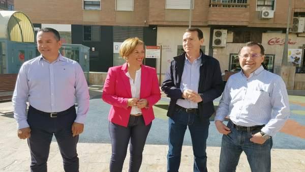 Almería.- 28A.- PSOE defiende que los frutos del desarrollo económico 'se distribuyan entre la mayoría social'