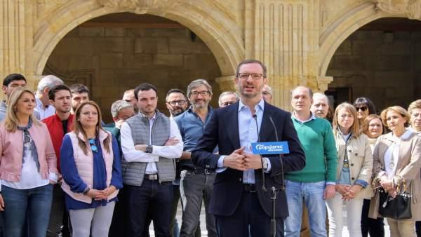 26A.- Maroto (PP) Afirma Que Votar Al PNV Es 'Lo Mismo Que Votar A Pedro Sánchez'