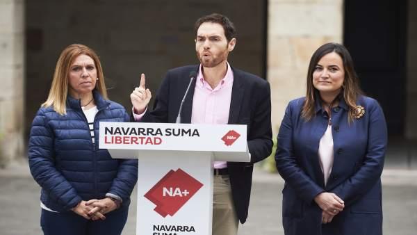28A.- Sayas Afirma Que Navarra Suma 'Es La Única Opción Política Que Defiende La Convivencia Y La Identidad De Navarra'