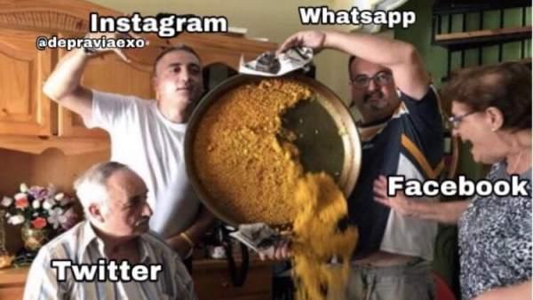 Los mejores memes tras la caída mundial de Whatsapp