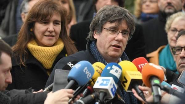 28A.- Puigdemont: Lo 'Indispensable' Para Pactar Tras El 28A Es Reconocer La Autodeterminación