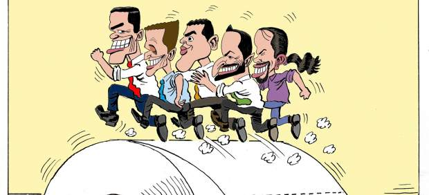La carrera electoral