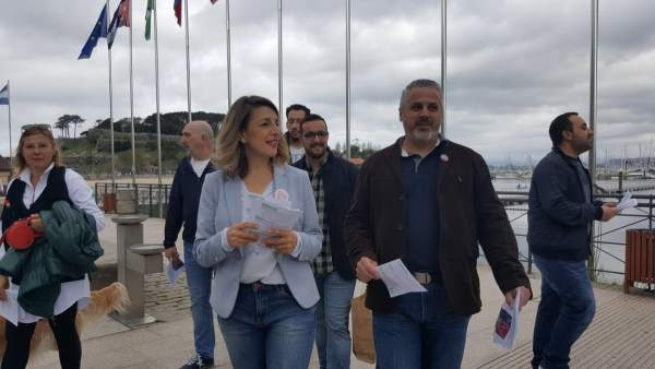 28A.- Yolanda Díaz: 'Aún No Hemos Escuchado A Pedro Sánchez Decir Que No Quiere Pactar Con Albert Rivera'