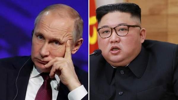 Vladimir Putin y Kim Jong-un
