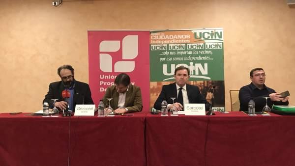 UPyD y UCIN pacto en Toledo