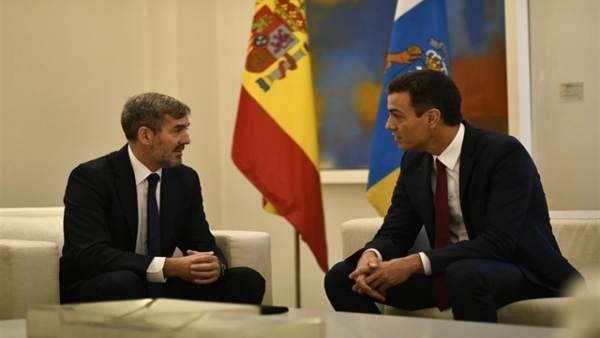 Clavijo dice que el anuncio de un Consejo de Ministros en Canarias refleja la 'actitud colonial' de Pedro Sánchez