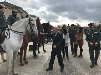 Xacobeo.- El Plan de Seguridad Jacobea destina más de mil agentes de la Guardia Civil a reforzar la seguridad en rutas