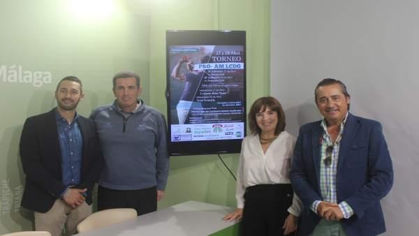 Málaga.- El Ayuntamiento de Vélez-Málaga presenta un torneo nacional de golf que se celebrará a finales de abril