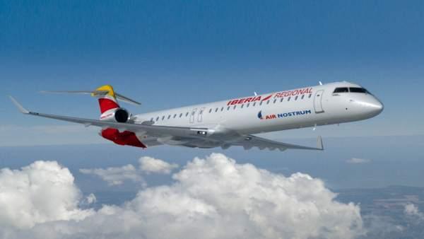 Los vuelos desde Badajoz de Air Nostrum no se verán afectados por la huelga por ser de servicio público