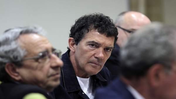 Málaga.- Antonio Banderas asegura que el Teatro del Soho 'va estupendamente'