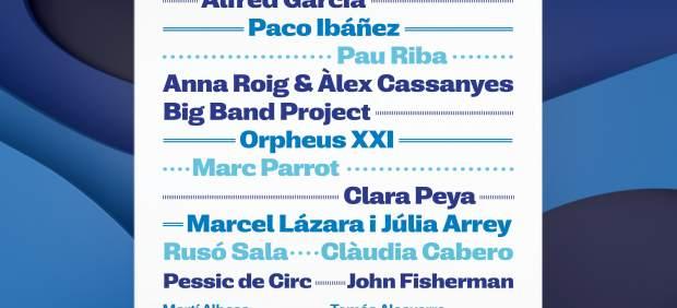 El festival Portalblau invita a Alfred Garcia, Paco Ibáñez y Pau Riba
