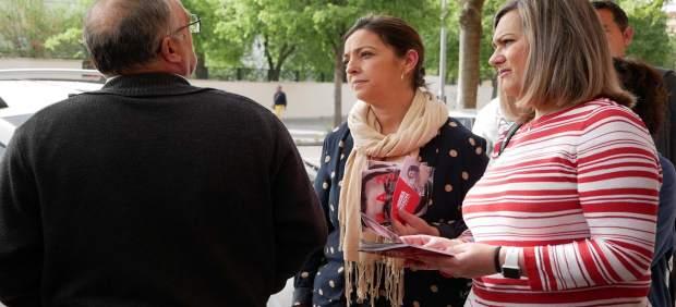 Córdoba.- 28A.- María Jesús Serrano subraya que el PSOE establecerá 'un Ingreso Mínimo Vital' contra la pobreza infantil