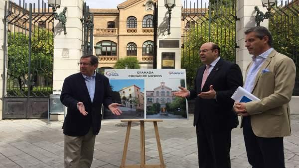 Granada.- 26M.- Pérez (PP) propone que Gran Capitán cuente con una colección permanente como museo de arte contemporáneo