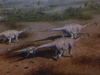 Titanosaurios.