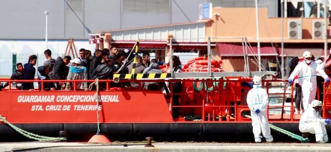 Rescate de 48 inmigrantes en Algeciras (Cádiz)