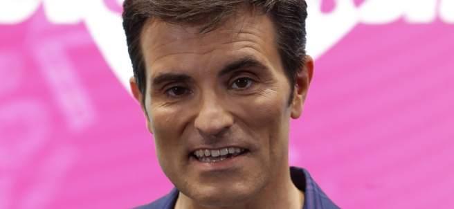 El presentador Luis Larrodera.