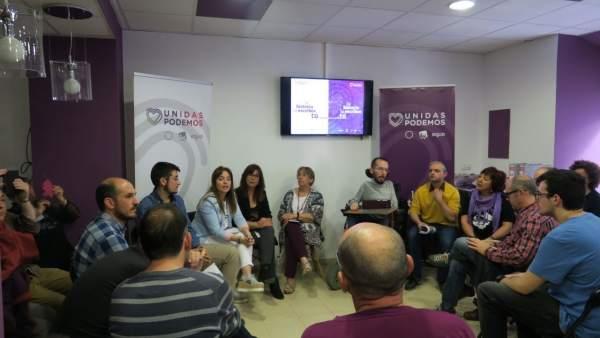 28A.- Echenique (Unidas Podemos) Apuesta Por Las Comunicaciones, El Empleo Y La Transición Energética Justa En Teruel