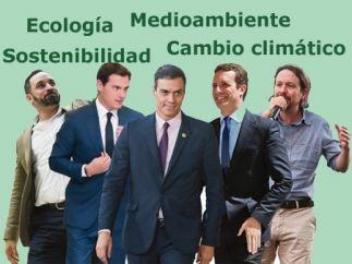 Los candidatos a las elecciones del 28-A.