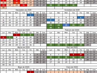 Calendario Escolar 2020 Cantabria.Publicado El Calendario Escolar Para El Curso 2019 2020