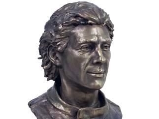 Busto de Ayrton Senna