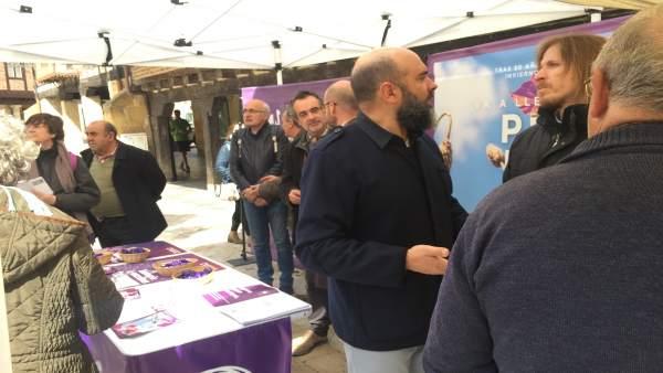 28A.- Fernández (Podemos) Cree Que Tras Una Precampaña De 'Cloacas' A PP, Cs Y PSOE Se Les Están Viendo Las Costuras
