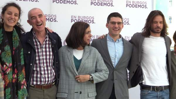 26M.- Podemos Apela Al Espíritu De Los Comuneros Para 'Alzar La Bandera Morada' Y Lograr La Alcaldía De Burgos