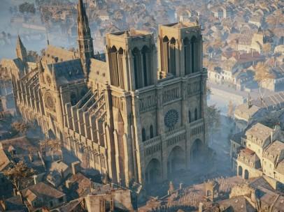 Notre Dame en el videojuego 'Assasin's Creed Unity'
